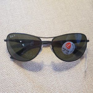 Ray Ban RB3519 Polarized Pilot Sunglasses Unisex